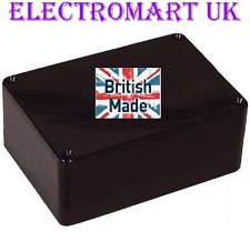 ABS BLACK PLASTIC ELECTRONICS PROJECT BOX ENCLOSURE 118 X 98 X 45MM