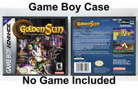 Golden Sun 2: The Lost Age - Game Boy Advance GBA Custom Case *NO GAME*