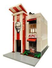 LEGO Chicken Restaurant Fast Food Creator Modular City Custom Model