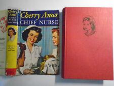 Cherry Ames Chief Nurse, Helen Wells, DJ, World Distributors, London, 1957