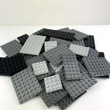 LEGO 30x Platten Bauplatten Grau Schwarz verschiedene Größen - Star Wars Ritter