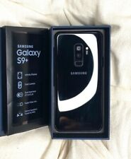 Samsung Galaxy S9+ & 128 G used with Black model