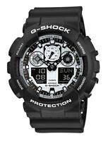 CASIO G-Shock GA100BW-1A Men's Wrist Watch