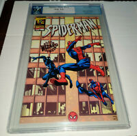 SPIDER-MAN 1/2 WIZARD PGX 9.4 White Pages Rare Red Foil Edition not CGC CBCS