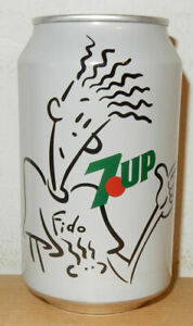 1990's Historic Label 7UP soda can from NETHERLANDS (33cl)