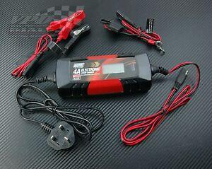 Charger Battery Lead Power Pack Breakdown Car Electric Smart Volt 4A  6v/12v