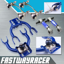 Civic Integra EG D15 DC2 Blue Front Upper Arm Camber + Rear Camber Kit + Bushing