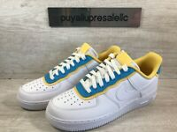 "Womens Nike Air Force 1 '07 SE ""Double Layer"" White/Blue Fury AA0287-105 Size 10"