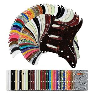 Stratocaster Pickguard With Back Plate Tremolo cover Scratchplate Strat USA MEX