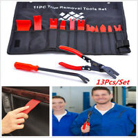 13 Pcs Auto Trim Removal Tool and BONUS Clip Pliers & Fastener Remover Universal
