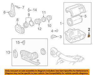 GM OEM Air Cleaner Intake-Air Cleaner Clip 25043286