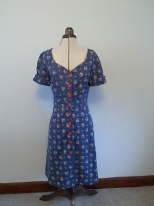 Cath Kidston timeless classic 40s/50s style tea dress perfect condition size 10
