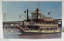 Vintage Postcard - M.V. Huck Finn Excursion Boat St. Louis, MO - Unused