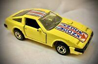 Vintage 1984 Hot Wheels - Nissan Datsun 300zx Sports Car (1:64 Malaysia Yellow)