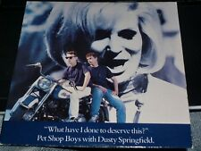 Pet Shop Boys Dusty Springfield ‎– What Have I Done To Deserve This? CD Single
