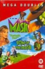 The Mask / Son Of The Mask DVD Jim Carrey Cameron Chuck Brand New and Sealed