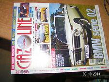 Gazoline n°29 Guide Achat BMW Serie 02 Restaurer Peugeot 403 Simca Rallye 2