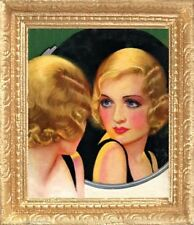 1933 HOLLYWOOD FILM STAR Dollhouse Picture - Framed Art - MADE IN AMERICA