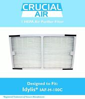 REPL Idylis C IAP-10-200, IAP-10-280 HEPA Air Purifier Filter Part # IAF-H-100C