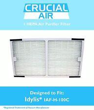 Idylis C Hepa Air Purifier Filter Fits Iap-10-200, Iap-10-280 Model # Iaf-H-100C