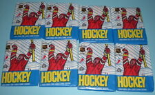 EIGHT 1989-90 OPC HOCKEY UNOPENED WAX PACKS SAKIC ROOKIE