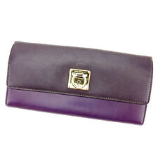 Auth Salvatore Ferragamo purse unisexused T2280