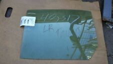 2010-2016 FORD TAURUS DRIVER SIDE REAR DOOR GLASS