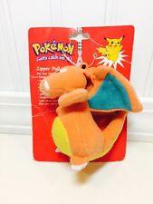 Pokemon #6 Charizard Plush Zipper Pull Backpack Clip On 2000 Avon Promo NEW