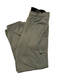 Men's Nike Sweatpants Therma-Fit Gray Size Medium