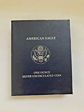 2007 W West Point American Eagle 1 Ounce Silver Unc. Coin w/Box COA OGP