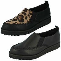 LADIES F9586 LOAFERS SHOES BY SPOT-ON SALE NOW £3.99