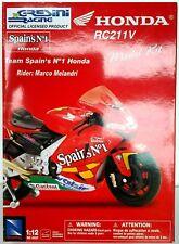 NewRay, Die-cast MOTO Honda RC211V Model Kit 1:12, New in original box (SP115)