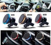 Car Magnetic Air Vent Mount Holder Stand For Mobile Cell Phone iPhone, Samsung