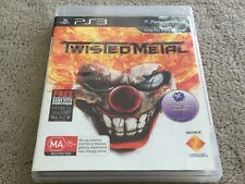 TWISTED METAL  - PLAYSTATION 3 PS3  - FREE POST