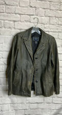American Eagle Genuine Leather Jacket Sz S Womens