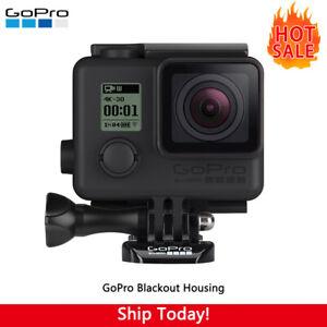 Genuine GoPro Blackout Case Cover Housing Waterproof HERO4, HERO3, HERO3+