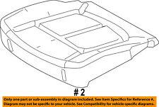 FORD OEM Front Seat Bottom-Foam Cushion Pad Insert Left BC3Z25632A23B