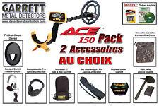 Pack 2 - Détecteur de métaux Garrett Ace 150 + 2 Accessoires au choix