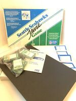 Seattle Seahawks Trivia Board Game Football 1986 NFL Complete
