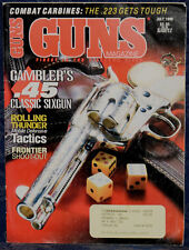 Magazine *GUNS* July 1998 RUGER Mini-14 .223 CARBINE, New Life for CLASSIC GUNS
