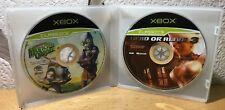 Discos Xbox : Oddworld: Munch's Oddysee + Dead Or Alive 3 ( Classics )