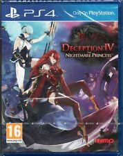 DECEPTION IV: THE NIGHTMARE PRINCESS PS4 (4) ~ NEW / SEALED