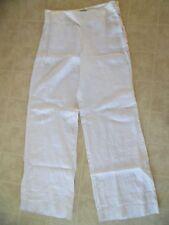 Banana Republic white linen,  pants  10 X 33