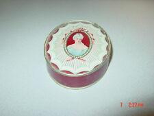 Vintage Richard Hudnut DuBarry Face Powder Special Rachel Oval Box nearly full