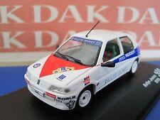 Die cast 1/43 Modellino Auto Peugeot 106 Rally Jeunes 1996 S.Loeb