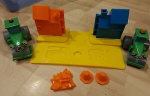 Bob the Builder Play Doh Set Bob Wendy Pilchard Roley Cones Base