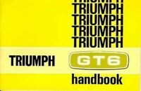 Triumph Gt6 Mk2 Gt6+ Official Handbook 1969