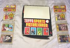TOPPS LOT OF (22) PACKS OF 1988 SPORTS PICTURE CARDS IN BOX+ (2) PKG 1987 CARDS