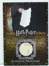 Harry Potter OOTP D.A. Parchment Prop Card #158 of 185