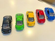 Collection of 5 '99 VW New Beetle pull-back models by SmartToys 1:32 scale